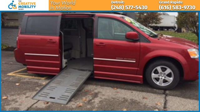 2008 Dodge Grand Caravan  Wheelchair Van For Sale
