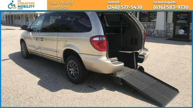 2004 Chrysler Town and Country  Wheelchair Van For Sale