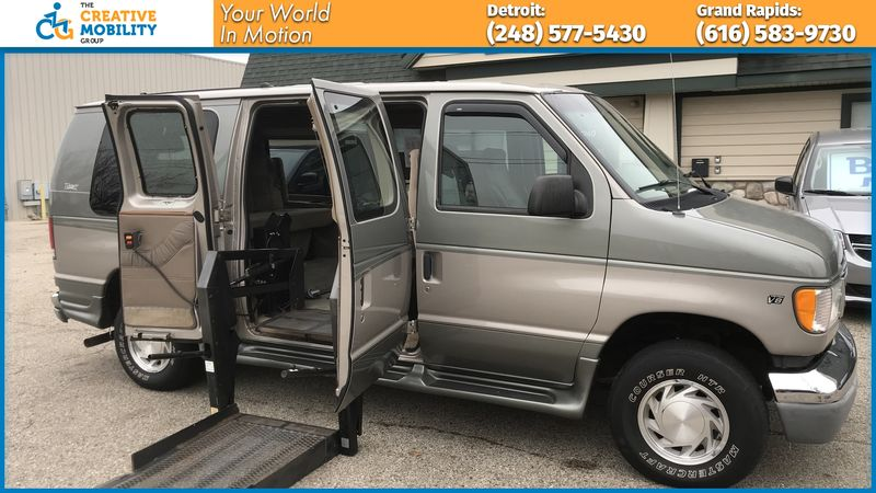 2002 Ford E-150  Wheelchair Van For Sale
